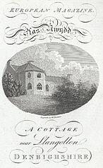 Plas Nwydd i.e. Newydd: a cottage near Llangollen, Denbighshire