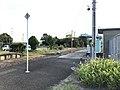 Platform of Chikuzen-Yamae Station 4.jpg