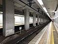 Platform of Nagata Station (Seishin-Yamate Line) 3.jpg