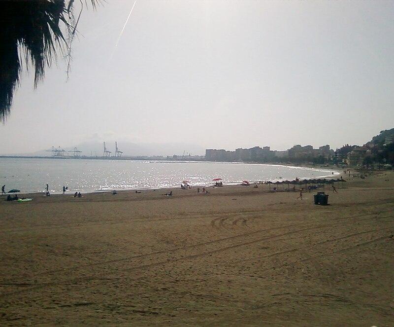 Playa La Caleta, en M?laga
