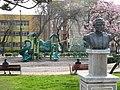 Plaza Carlos Condell - busto.JPG