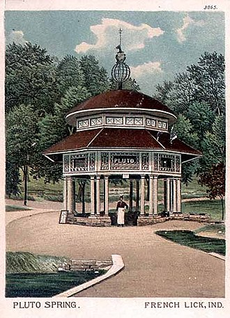 "French Lick, Indiana - ""Pluto Spring"", French Lick, 1903"
