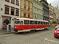Plzeň, Náměstí Republiky, Tatra T2.JPG