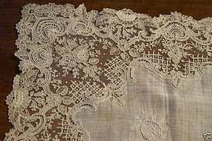 English: Lace Nederlands: kant