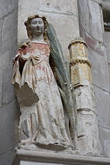 Heilige Barbara (Notre-Dame de Poissy)
