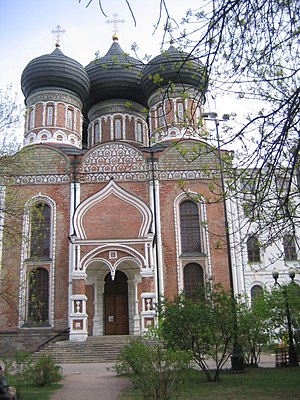 Izmaylovo District - Church of Intercession of the Most Holy Theotokos