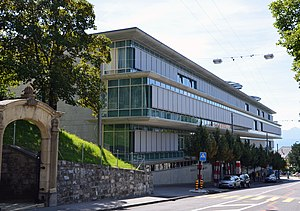 Lausanne University Hospital - Image: Policlinique Médicale Universitaire Lausanne