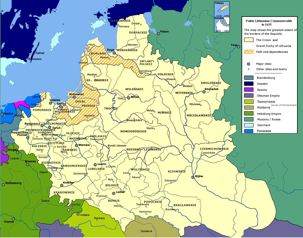 Polish-Lithuanian Commonwealth 1635
