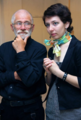 Ponomarev with a student.png