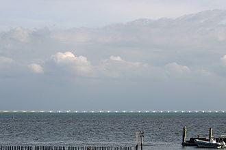 Zeeland Bridge - side view