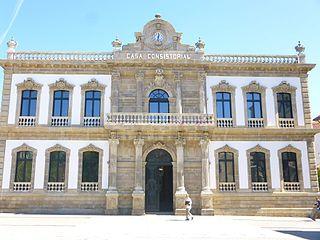 Pontevedra City Hall Eclectic City Hall in Pontevedra, Spain