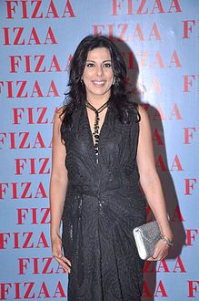 Pooja Bedi at the Fizaa store launch (2012)