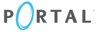 Portal (series) - Logo for the first game