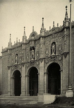 Allen George Newman - Portal of All the Palaces