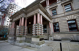 Portland City Hall (Oregon) - Fifth Avenue entrance
