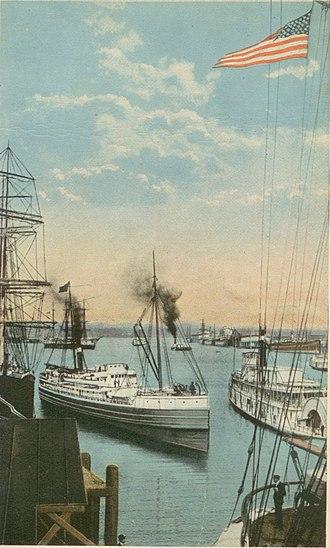Port of Portland (Oregon) - Portland Harbor in the early 1900s