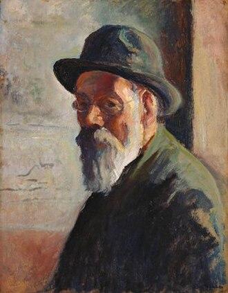 Maximilien Luce - Self-portrait, c. 1925–1930