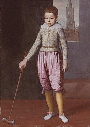Federico Ubaldo della Rovere, Duke of Urbino - Image: Portrait of Federico Ubaldo della Rovere by Claudio Ridolfi
