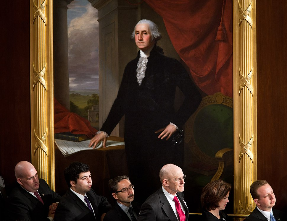 Portrait of George Washington 1834 by John Vanderlyn U.S. House of Reps