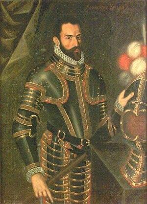 Pontus De la Gardie - Image: Portrait of Pontus De la Gardie