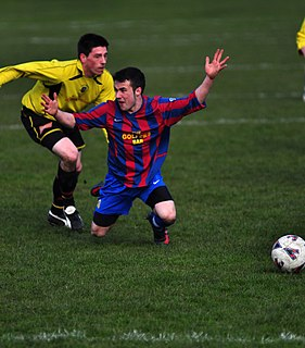 Diving (association football) simulating a foul in association football