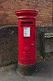 Post box at Hassal Road, Rock Ferry.jpg