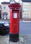 Post box on Hartington Road, Toxteth.jpg