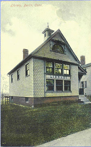 Berlin, Connecticut - Library, about 1911