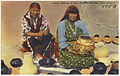 Pottery makers at San Ildefonso Pueblo, New Mexico 2.jpg