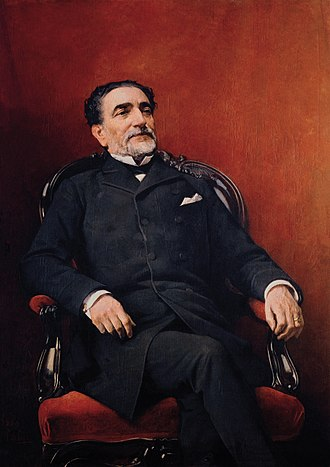 Práxedes Mateo Sagasta - Portrait of Práxedes Mateo Sagasta