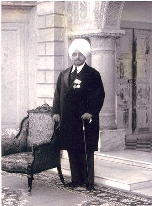 Pratap Singh of Kapurthala - Kanwar Pratap Singh Bahadur