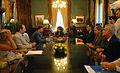 Presidencia de la Nación Argentina - Cristina con Schuster.jpg