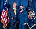 President Donald J Trump Louis Gregory TV - Mar-a-Lago - March 8 2020 - Uncle Louie.jpg
