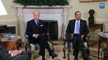 Obama Travels Talk Down Trump Site Reuters Com