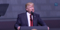 President Trump gives remarks at the National Rifle Association Leadership Forum.png