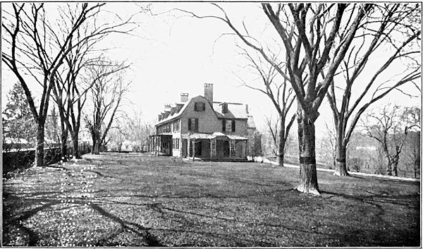 Presidents John Quincy Adams House at Quincy, Mass.jpg