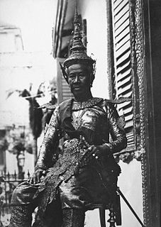 King of Cambodia from 1904 to 1927