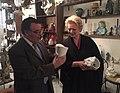 Princess Beatrice visits ceramic store.jpg
