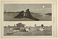 Print, Flirting on the Sea-Shore and on the Meadow, from Harper's Weekly, September 19, 1874, p. 780, 1874 (CH 18606397).jpg