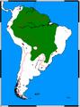 Priodontes maximus range map.png