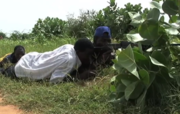 Pro-government militia in Mali training