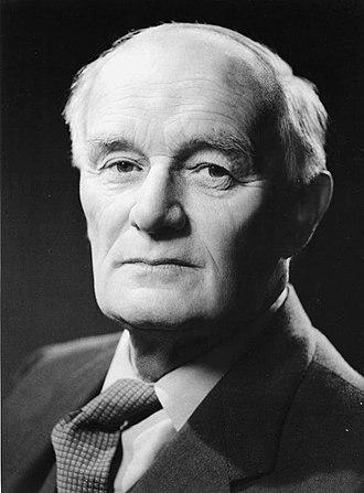 Thomas Humphrey Marshall - Portrait of Professor Marshall in 1950.