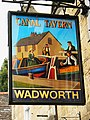Pub sign, Canal Tavern, Bradford on Avon - geograph.org.uk - 1443265.jpg
