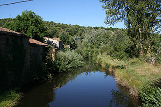 Aliste (comarca) - Aliste River near Mahide