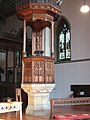 Pulpit of Holy Innocents church - geograph.org.uk - 970317.jpg