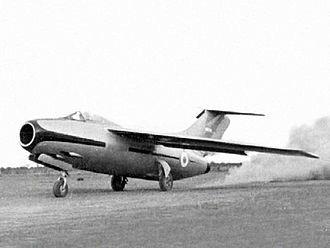 Focke-Wulf Ta 183 - Pulqui II on takeoff