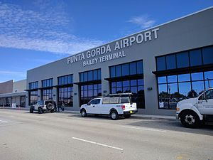 Punta Gorda Airport (Florida) - Bailey Terminal building at Punta Gorda Airport.