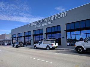 Punta Gorda Airport (Florida) - Bailey Terminal building at Punta Gorda Airport.