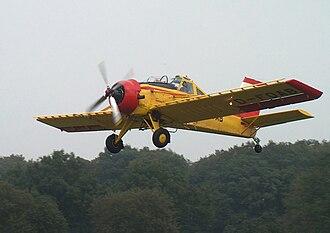 PZL-106 Kruk - PZL-106A in flight