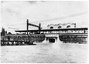 Quaker Ridge (NYW&B station) - Image: Quaker Ridge Train Station